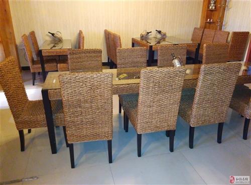 文艺,小清新,特别喜欢的餐桌,茶几。全部藤制的。