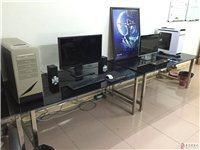 电脑钢化玻璃桌80CM*160CM