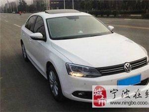 出售二手大眾速騰1.4T自動豪華型轎車