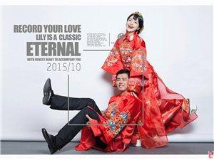 琼海百合经典婚纱摄影中式传统婚纱照主题套系