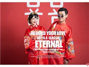 千赢国际娱乐qy88百合经典婚纱摄影纯色内景婚纱照主题套系