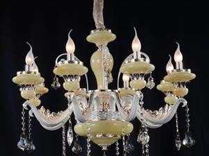 皇家国际灯饰厂高端水晶蜡烛灯饰底价处理