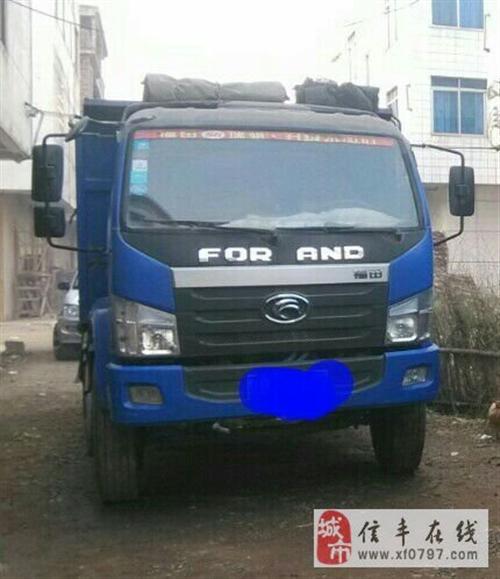 福田4102中冷增压蓝牌货车出售