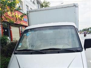 二手东风小康厢式货车38000带牌金沙国际网上娱乐