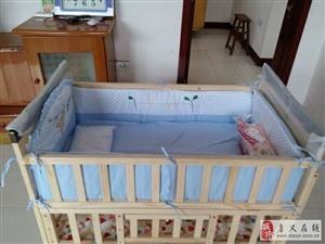 新买的婴儿床