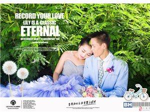 三亞百合經典婚紗攝影雨林棧島婚紗照主題套系