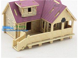 木质拼图模型玩具