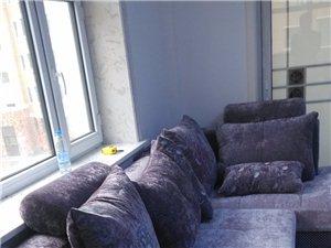 出售全新沙发(淡紫色)