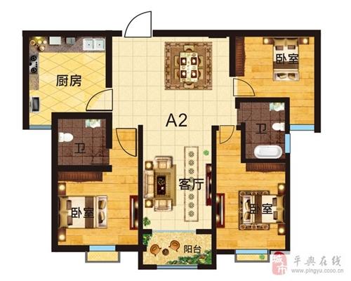1号楼A2户型图(激情岁月)