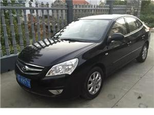 北京现代悦动私家车转让