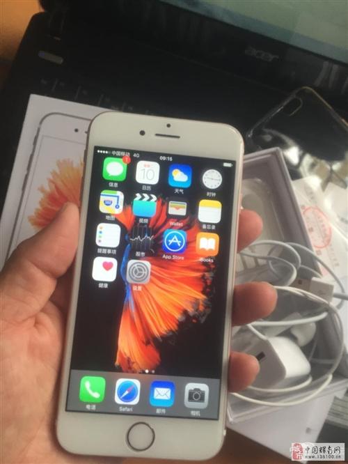 因个人原因低价转让自用的iphone6s玫瑰金