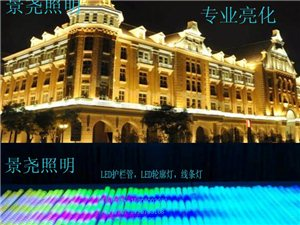 酒店輪廓彩色美化夜間工程裝飾LED數碼管