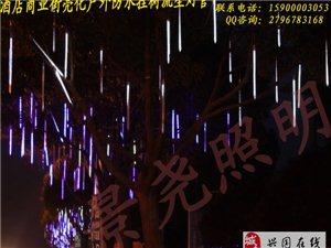 景堯照明戶外高掛裝飾LED流星燈管 雙面流行燈