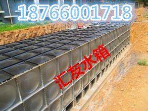 匯友地埋式玻璃鋼水箱選材及結構特點