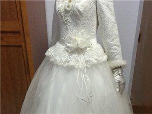 冬季婚纱礼服