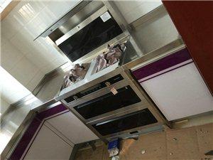 专业定制不锈钢整体橱柜,不锈钢台面