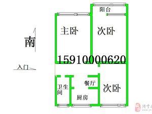 免税+如意樱花苑1楼3室,70平44万天地房产