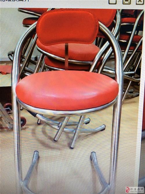 高脚靠背椅低价出售