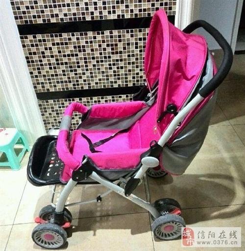 九成新二手婴幼儿手推车出售