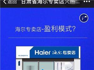 海尔集团公司海尔集团招商加盟