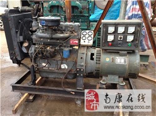 贛州南康太窩二手30KW100KW濰坊發電機出售