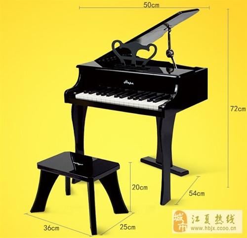 買奶粉抽獎抽中的德國Hape38鍵木質鋼琴轉讓