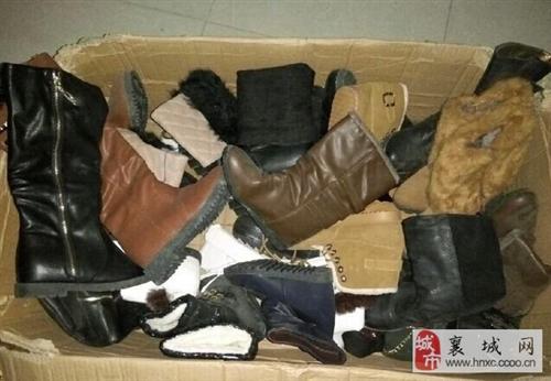 全新女士冬靴处理十五元