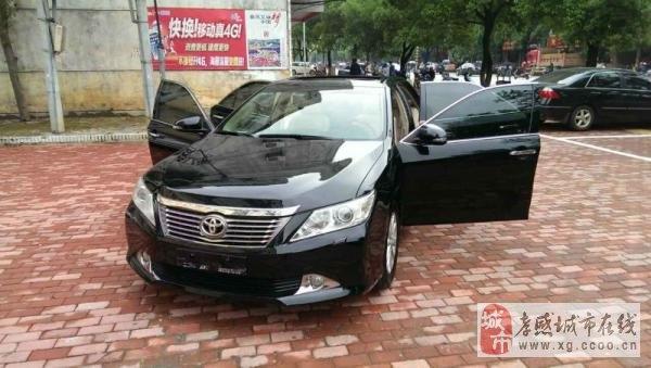 自動高配豐田凱美瑞2.0豪華型售價1.8萬