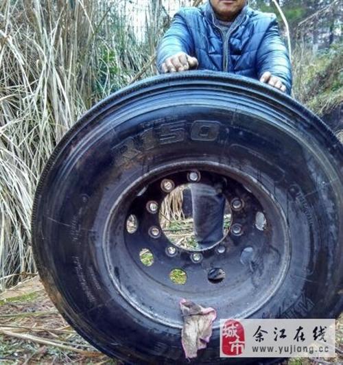 二手货车轮胎便宜卖 - 5元