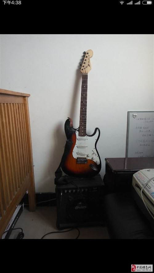 出售电吉他加音箱