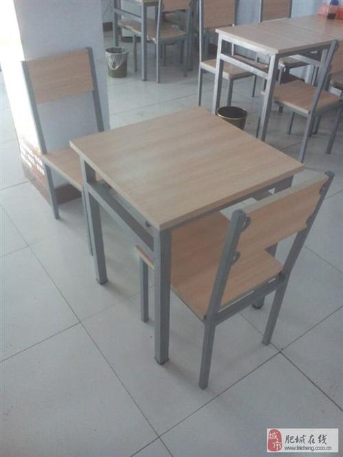 出售二手餐桌双人桌5套四人桌8套