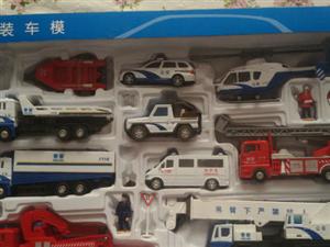 低价出售套装车模合金车套装玩具