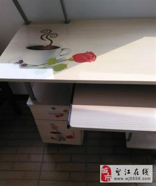 2台八成新电脑桌、书桌转手 - 130元