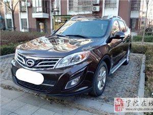 传祺GS5车型2012年62000元二手车