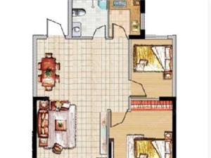 出售金色东方12楼2室2厅