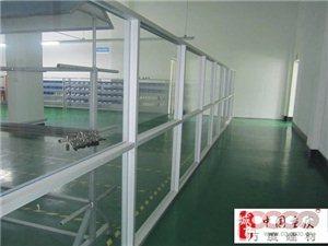 厂房车间石膏隔墙无框玻璃隔音墙加工制作安装