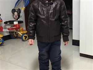 全新儿童皮夹克(1-3岁),230元