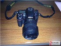 出售九成新尼康D7000单反相机一台