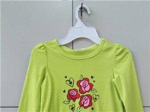 綺都(龍南)紡織服裝有限公司大量外貿童裝T恤批發