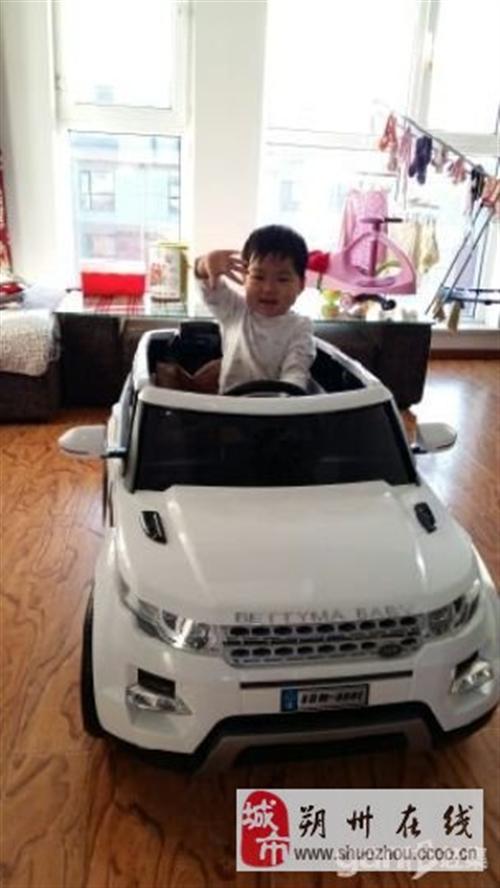 全新可坐的路虎儿童电动车,我买到后是自己安装的