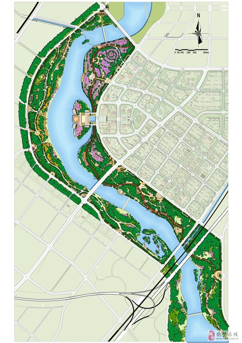 鹤壁大新区规划图