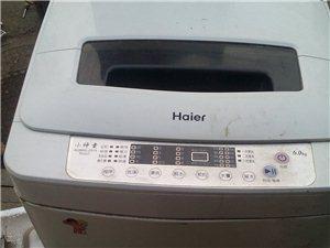 出售二手海尔全自动洗衣机无维修