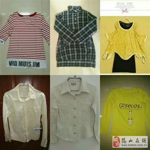 閑置衣柜清貨,大量衣物低價出售。