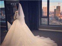 婚纱 1.5米拖尾