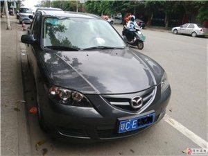 出售2011款手动挡银色马自达3