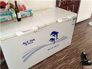 出售8成新澳柯玛冰柜