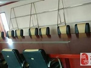 大型会议桌…九九新…带椅子