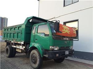 出售东风绿色自卸车