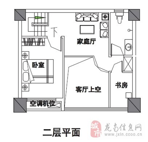 62平米二层居家效果图