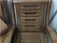低价转让全套自用7座实木沙发|二手沙发|9成新